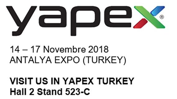 Pozzi Colours and new International event Yapex 2018